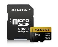 ADATA 64GB microSDXC zapis 155MB/s odczyt 275MB/s - 374878 - zdjęcie 2