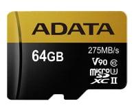 ADATA 64GB microSDXC zapis 155MB/s odczyt 275MB/s - 374878 - zdjęcie 1