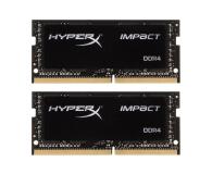 HyperX 32GB (2x16GB) 2666MHz Impact Black CL15 1.2V  - 345946 - zdjęcie 1