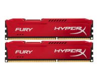 HyperX 16GB 1600MHz Fury Red CL10 (2x8GB) - 180507 - zdjęcie 1