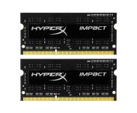 HyperX 8GB 1600MHz Impact Black CL9 1.35V (2x4GB) - 335758 - zdjęcie 1