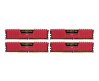 Corsair 32GB 2400MHz Vengeance LPX Red CL16 (4x8GB) - 354778 - zdjęcie 1