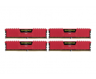 Corsair 32GB 2400MHz Vengeance LPX Red CL14 (4x8GB) - 216150 - zdjęcie 1