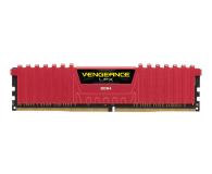 Corsair 8GB (1x8GB) 2400MHz CL14 Vengeance LPX Red - 257989 - zdjęcie 1