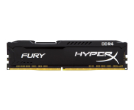 Pamięć RAM DDR4 HyperX 4GB 2400MHz Fury Black CL15