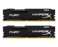 HyperX 16GB 2400MHz Fury Black CL15 (2x8GB) - 254686 - zdjęcie 1