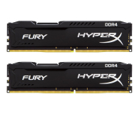 Pamięć RAM DDR4 HyperX 16GB 2666MHz Fury Black CL16 (2x8GB)