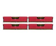Corsair 16GB 2133MHz Vengeance LPX Red CL13 (4x4GB) - 216133 - zdjęcie 1