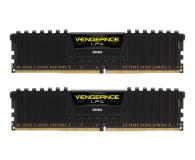 Corsair 16GB (2x8GB) 2666MHz CL16 Vengeance LPX Black