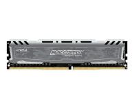 Pamięć RAM DDR4 Crucial 8GB 2666MHz Ballistix Sport LT Gray CL16