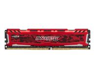 Crucial 8GB 2400MHz Ballistix Sport LT Red CL16 - 339377 - zdjęcie 1