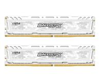 Pamięć RAM DDR4 Crucial 16GB 2666MHz Ballistix Sport LT White CL16 (2x8GB)