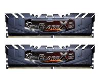 G.SKILL 16GB (2x8GB) 3200MHz CL14  Flare X Black Ryzen  - 368086 - zdjęcie 1