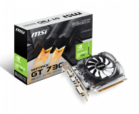 MSI GeForce GT730 OC V1 2GB GDDR3 - 372378 - zdjęcie 1