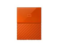 WD My Passport 2TB pomarańczowy USB 3.0 - 435330 - zdjęcie 1