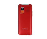 myPhone Halo EASY czerwony - 373255 - zdjęcie 3