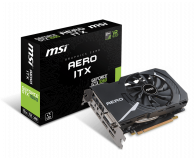 MSI GeForce GTX 1060 Aero ITX 6GB GDDR5 - 379656 - zdjęcie 1