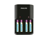 Philips Ładowarka akumulatorów AA / AAA + 4 x AAA 800mAh - 379875 - zdjęcie 1
