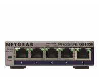 Netgear 5p GS105E (5x100/1000Mbit) - 237955 - zdjęcie 1