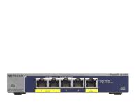 Netgear 5p GS105PE (5x10/100/1000Mbit 2xPoE 1xPoE-PD) - 225876 - zdjęcie 1