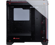 Corsair Crystal Series 570X Red RGB Tempered Glass  - 382135 - zdjęcie 4