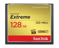 SanDisk 128GB Extreme zapis 85MB/s odczyt 120MB/s  - 382168 - zdjęcie 1