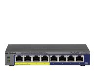 Netgear 8p GS108PE-300EUS (8x10/100/1000Mbit 4xPoE) - 206553 - zdjęcie 1