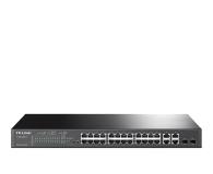 TP-Link 28p T1500-28PCT (24x100Mbit 4x1Gbit 2xSFP) PoE+ - 265442 - zdjęcie 1