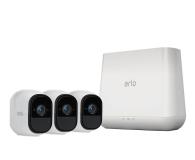 Netgear Arlo PRO WiFi HD IR (3szt. + stacja alarm.) - 361193 - zdjęcie 1