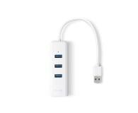 TP-Link UE330 (10/100/1000Mbit) Gigabit + HUB 3x USB 3.0 - 358358 - zdjęcie 1