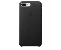 Apple Leather Case do iPhone 7/8 Plus Black  - 384319 - zdjęcie 1
