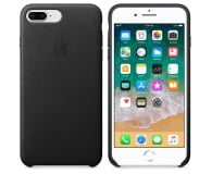 Apple Leather Case do iPhone 7/8 Plus Black  - 384319 - zdjęcie 2