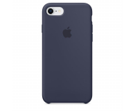 Apple Silicone Case do iPhone 7/8 Midnight Blue - 384322 - zdjęcie 1