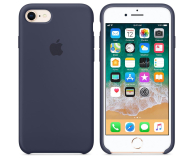 Apple Silicone Case do iPhone 7/8 Midnight Blue - 384322 - zdjęcie 2