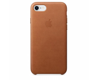 Apple Leather Case do iPhone 7/8/SE naturalny brąz - 384320 - zdjęcie 1