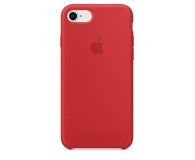 Apple Silicone Case do iPhone 7/8 (PRODUCT) RED - 384329 - zdjęcie 1