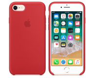 Apple Silicone Case do iPhone 7/8 (PRODUCT) RED - 384329 - zdjęcie 2