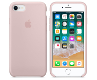 Apple Silicone Case do iPhone 7/8 Pink Sand - 384335 - zdjęcie 2