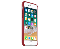 Apple Leather Case do iPhone 7/8/SE (PRODUCT) RED - 384318 - zdjęcie 3