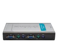 D-Link DKVM-4K PS/2 + VGA (4 komputery) 1,8m  - 29818 - zdjęcie 1