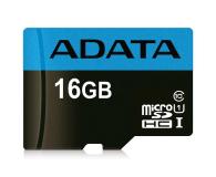 ADATA 16GB microSDHC Premier 100MB/s A1 V10 C10 UHS-I - 401956 - zdjęcie 1