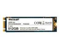 Patriot 512GB M.2 PCIe NVMe Scorch - 401834 - zdjęcie 1