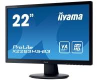 iiyama X2283HS czarny - 403862 - zdjęcie 2