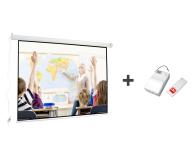 Avtek Ekran elektryczny 98' 200x150 +moduł bezprzewodowy - 399918 - zdjęcie 1