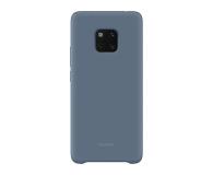 Huawei Silikonowe Plecki do Huawei Mate 20 Pro Blue  - 454203 - zdjęcie 1