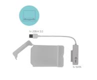 """i-tec Obudowa do dysku 2.5"""" MySafe (USB 3.0, biały) - 456355 - zdjęcie 3"""