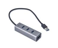 i-tec Metalowy HUB 4 x USB 3.0 - 456375 - zdjęcie 2