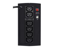 Ever DUO 850 AVR (850VA/550W, 6xIEC, USB, AVR) - 456719 - zdjęcie 3