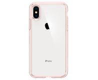 Spigen Ultra Hybrid do iPhone XS Rose Crystal  - 451999 - zdjęcie 2