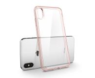 Spigen Ultra Hybrid do iPhone XS Rose Crystal  - 451999 - zdjęcie 4